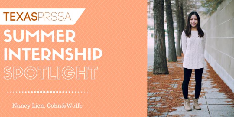 Summer Internship Spotlight #9