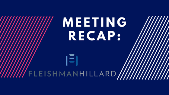 Meeting Recap FleishmanHillard
